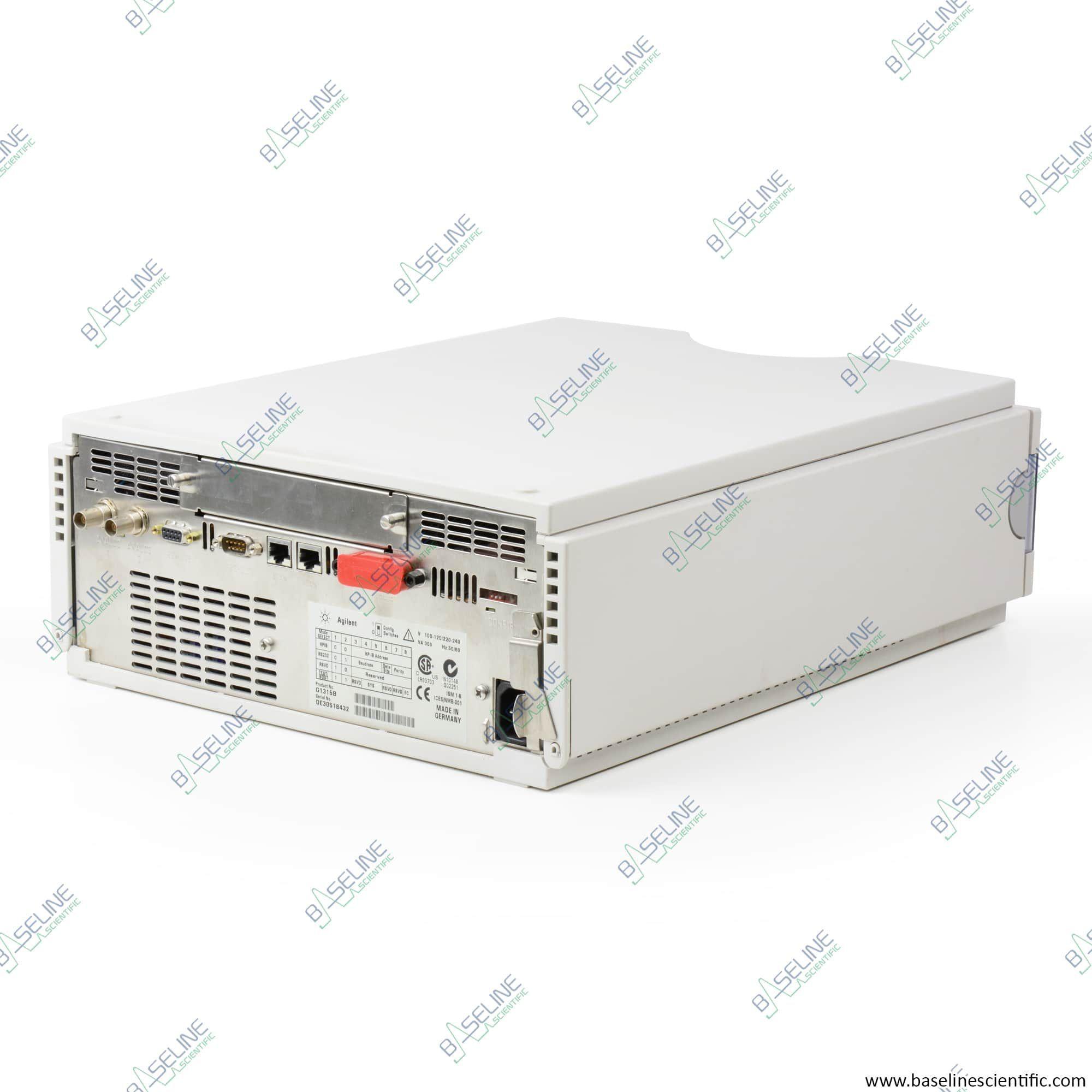 Refurbished Agilent/HP 1100 G1315B Detector with ONE YEAR WARRANTY