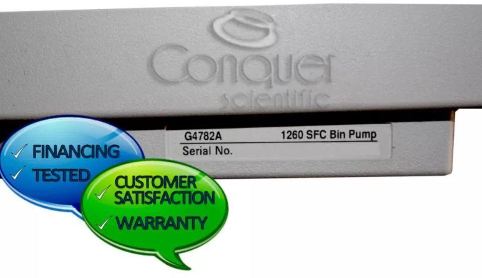 Agilent 1260 Infinity II Series G4782A SFC Binary Pump