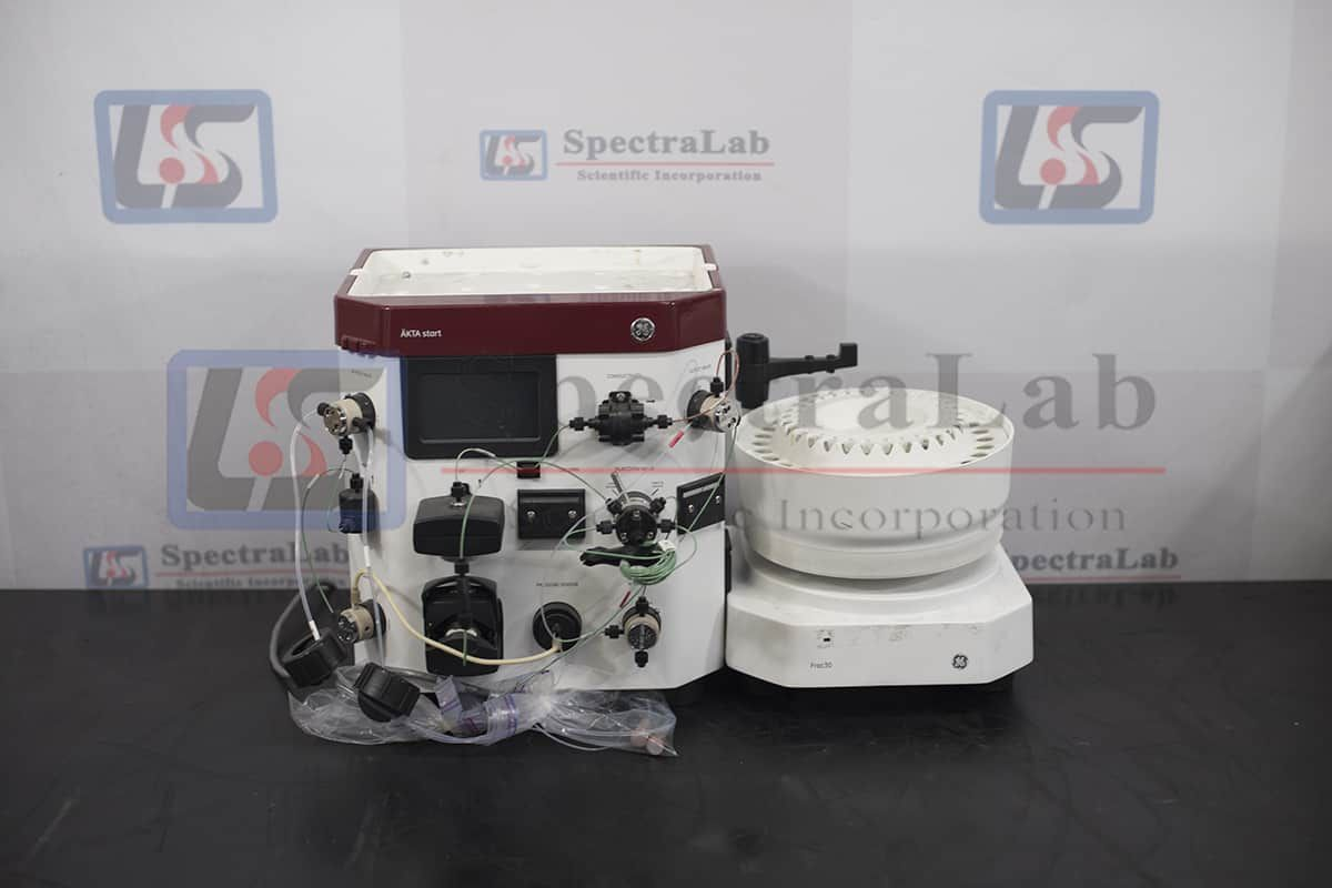 GE AKTA Start Protein Purification System with Frac30 Fraction Collector