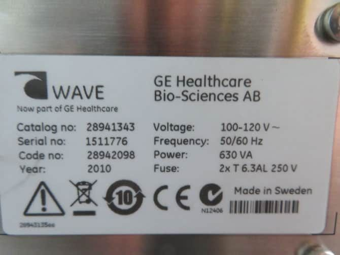GE Wave Bioreator System 20/50EHT System with Warranty