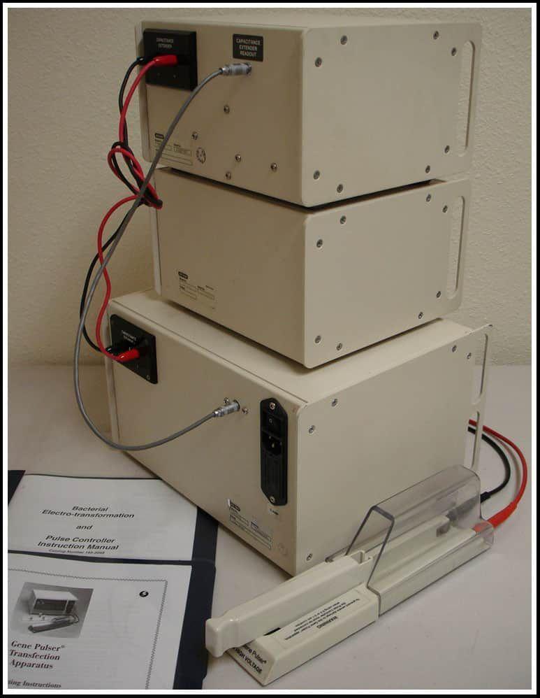 Bio-Rad Gene Pulser Electroporation Porator System w WARRANTY