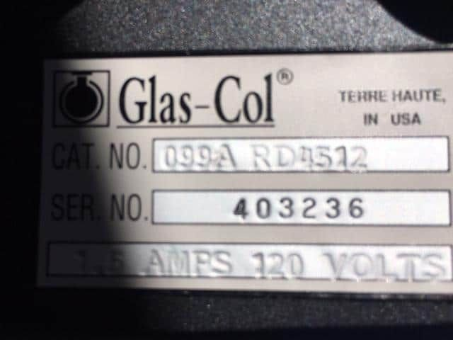 Glas-col tube Rotator in immaculate condition