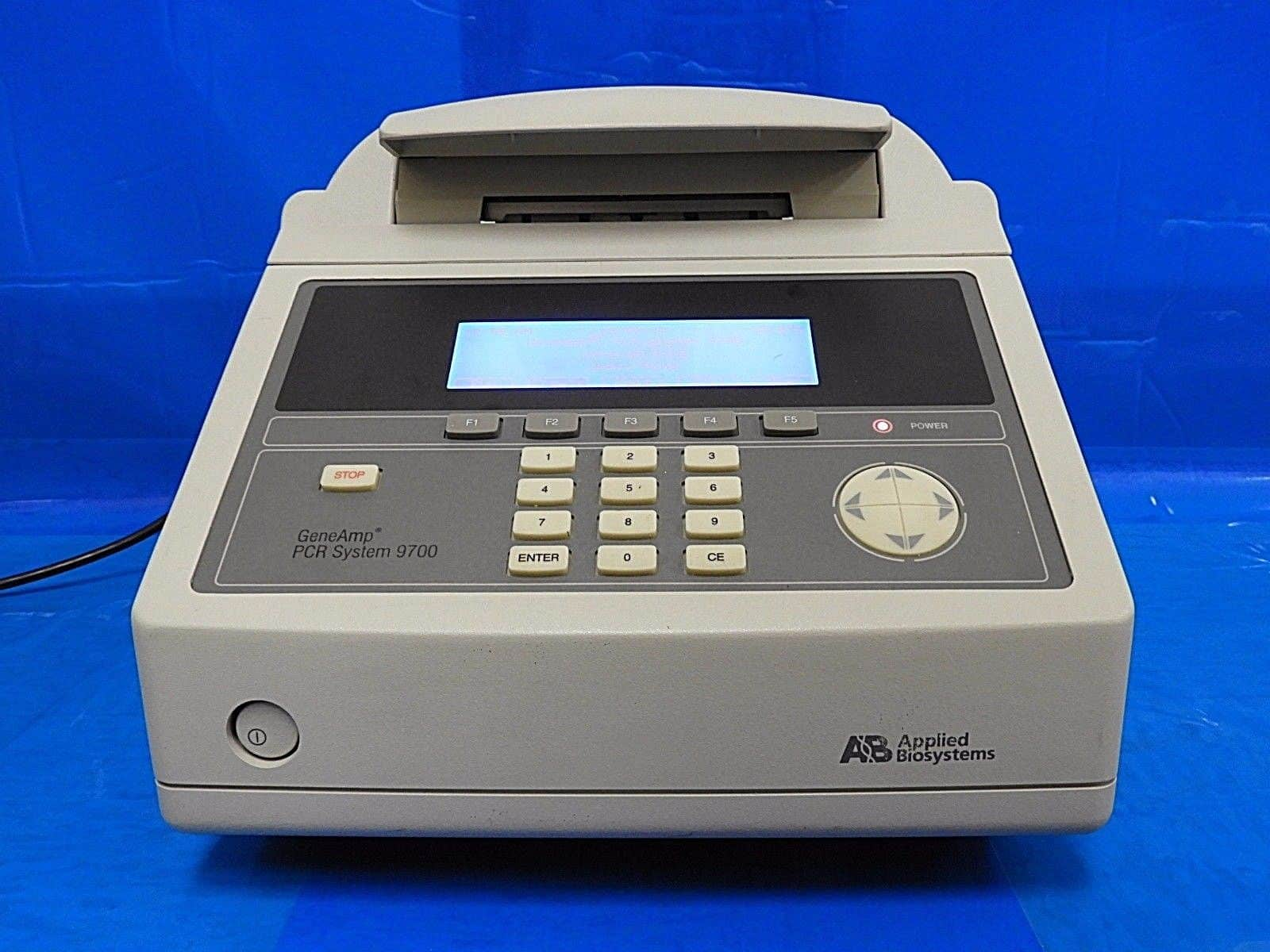 ABI 9700 Thermal Cyclers TNU Tested and Certified, All Types