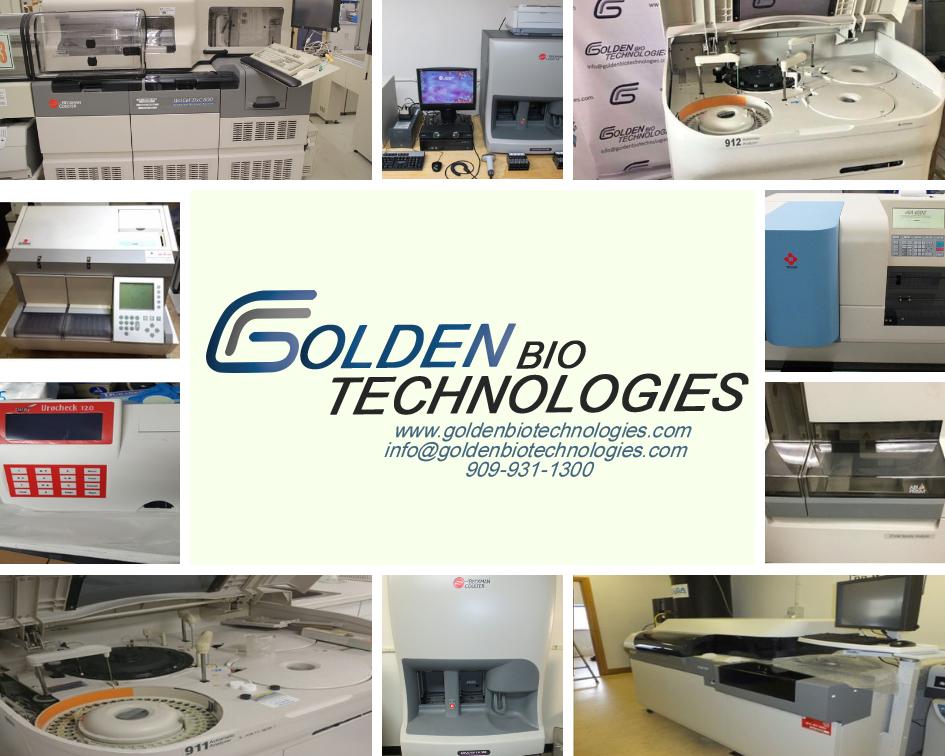 Golden Bio Technologies - Used or Refurbished Equipments