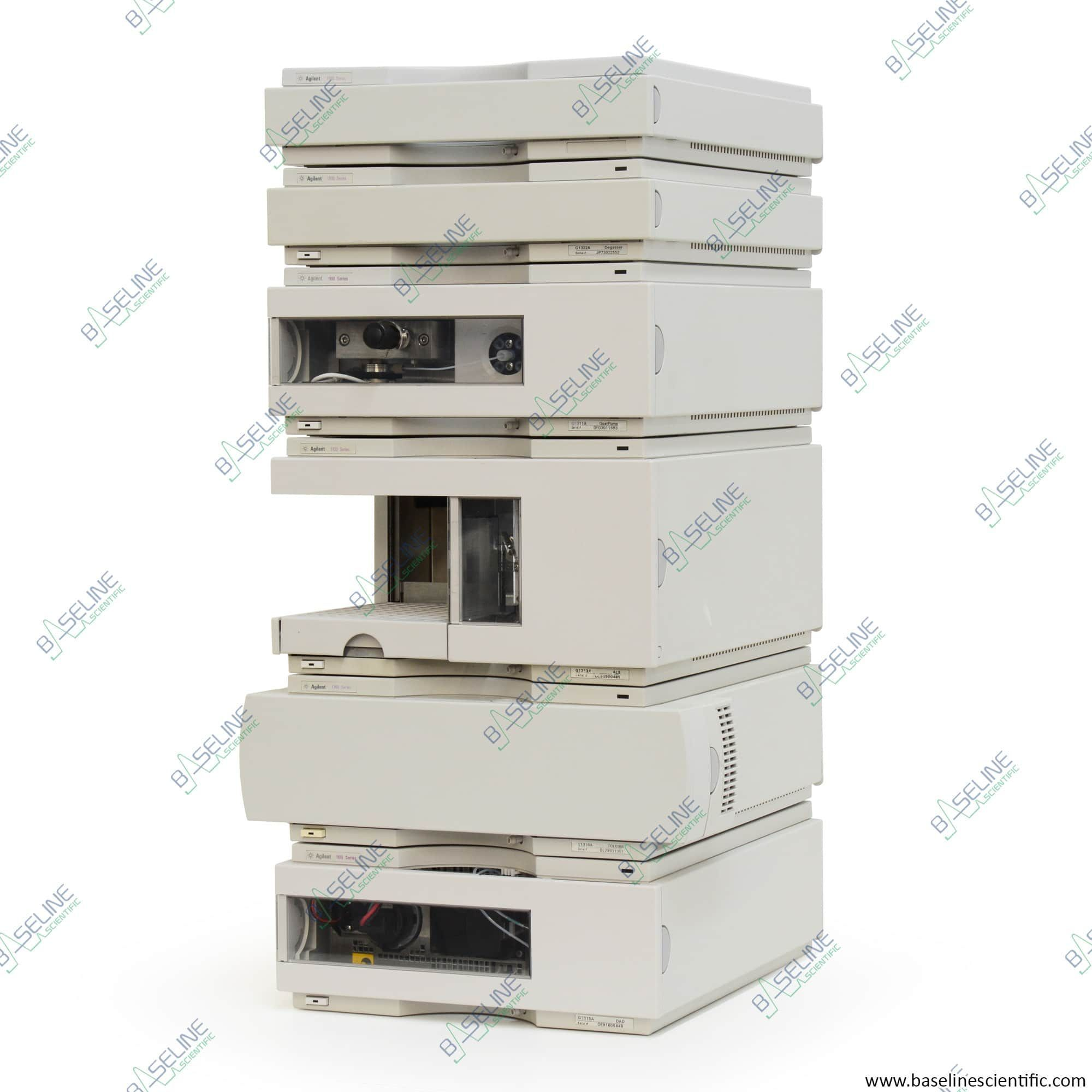 Refurbished Agilent HP 1100 HPLC Quaternary DAD system with ONE YEAR WARRANTY