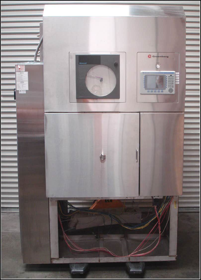 Gruenberg Pharmaceutical Sterilizer Autoclave Pass Through