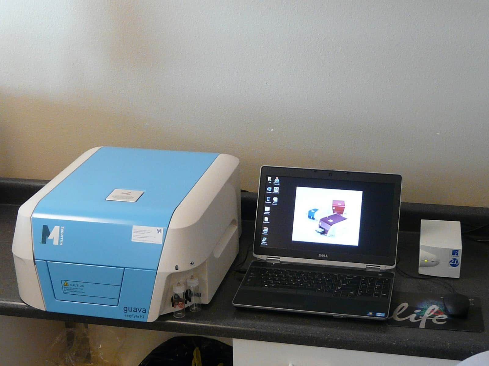 Millipore Guava HT Flow Cytometer with Accessories
