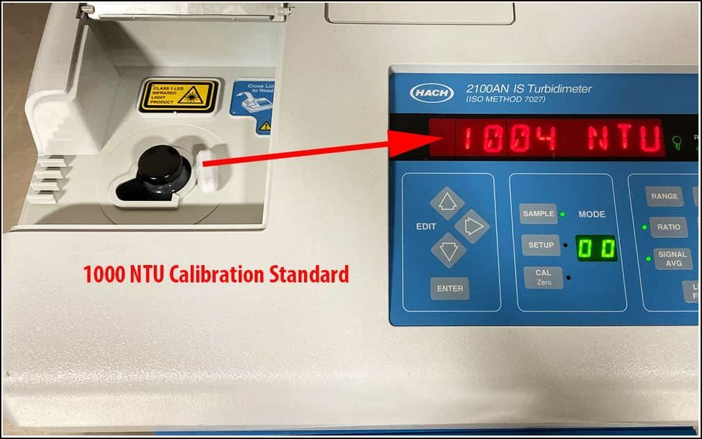 Hach 2100AN IS Turbidimeter with Printer & WARRANTY