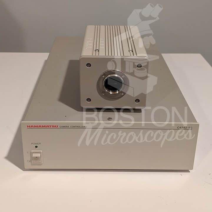 Hamamatsu Orca 285 C4742-96-12G04 Monochrome CCD Microscope Camera