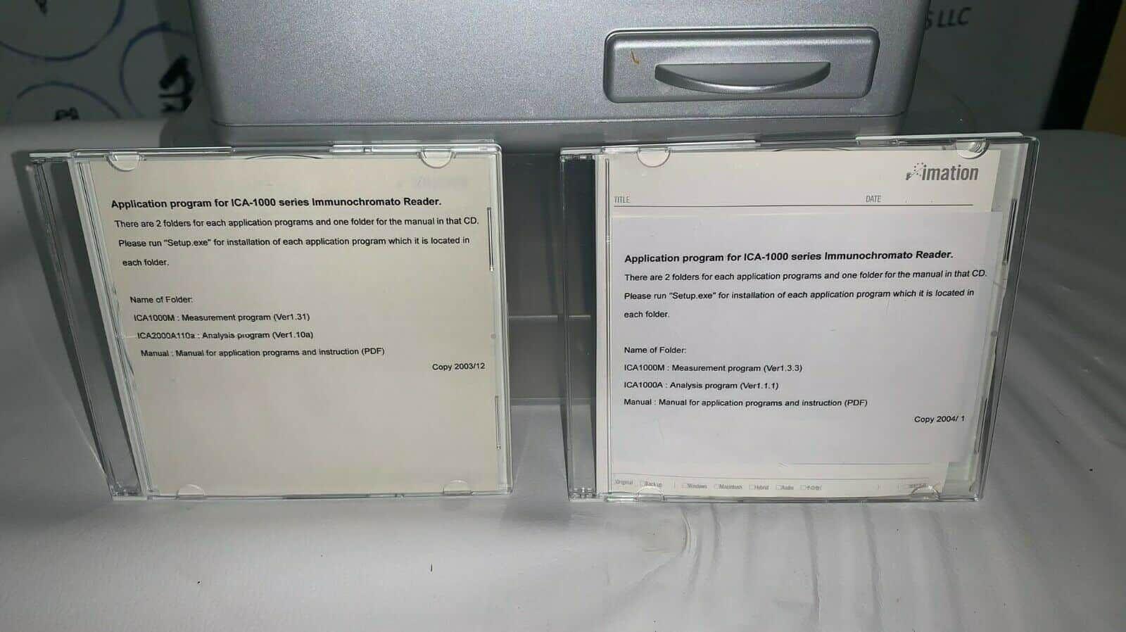 Hamamatsu ICA-1000 Inmunochromato Reader With Software