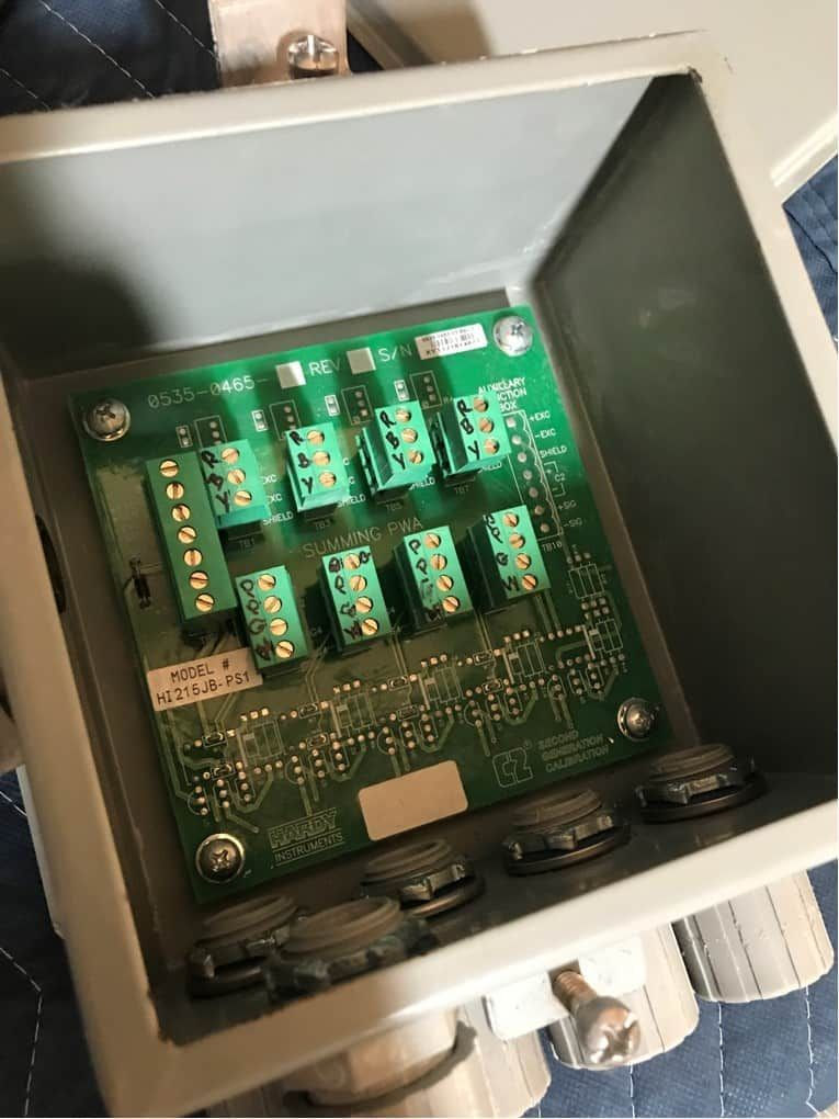 Mettler Toledo Line Shear Beam Load Sensors with Junction Boxes