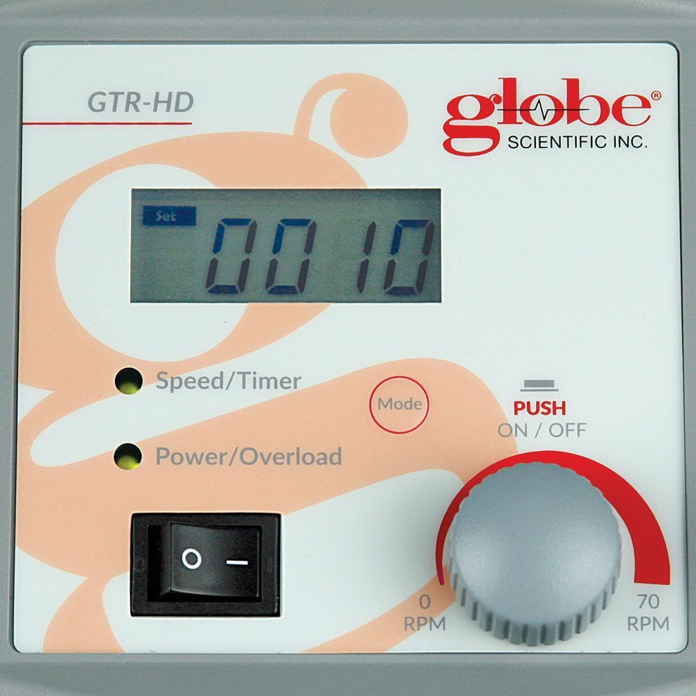 Globe Scientific GTR-HD Digital Tube Rotator