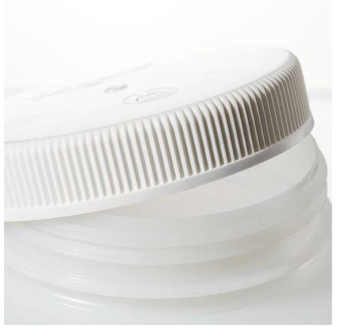 Thermo Scientific Nalgene™ Large Wide-Mouth HDPE Bottles with Closure