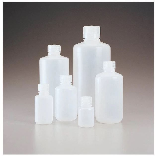 Thermo Scientific Nalgene™ Narrow-Mouth Natural HDPE Packaging Bottles with Closure: Bulk Pack