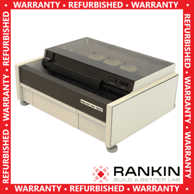 Bayer Hematek 2000 Slide Stainer | Rankin 1-Year Warranty