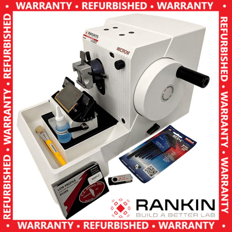 ~$171/mo - Thermo Microm HM 315 Manual Rotary Microtome | Rankin 1-Year Warranty