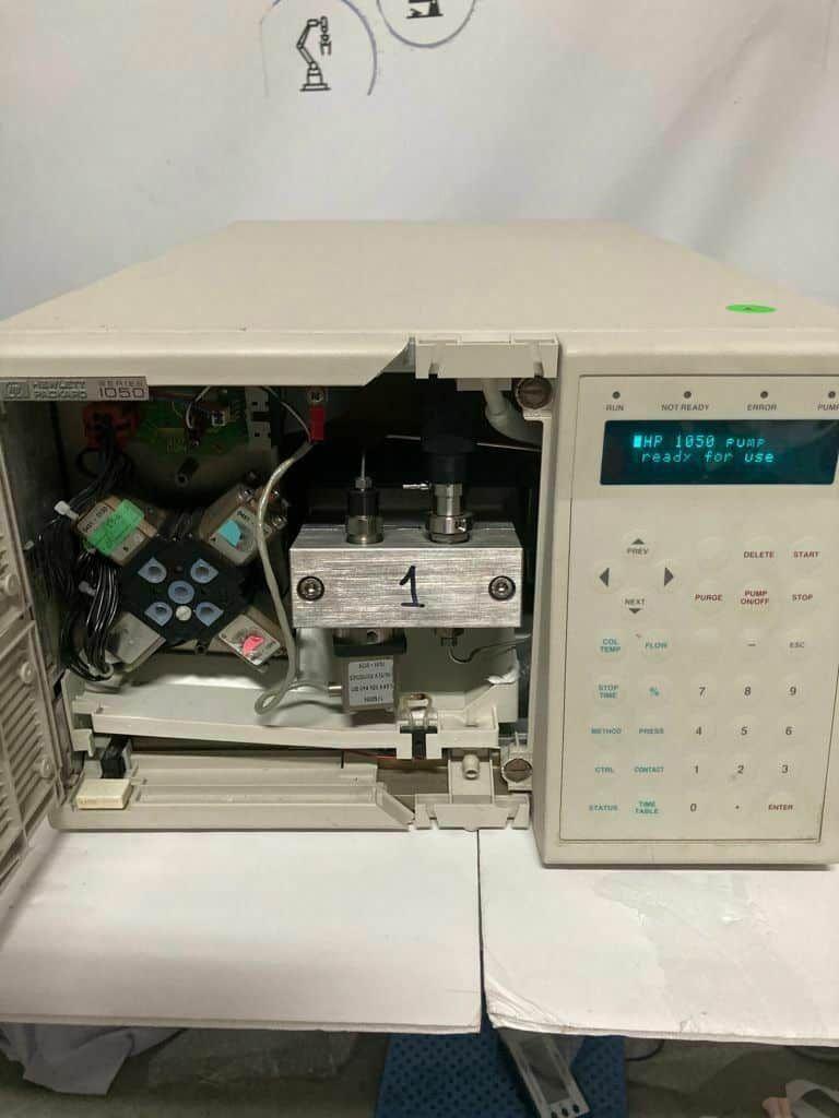 HP 79852A Isocratic Quaternary HPLC Pump - Hewlett Packard Series 1050