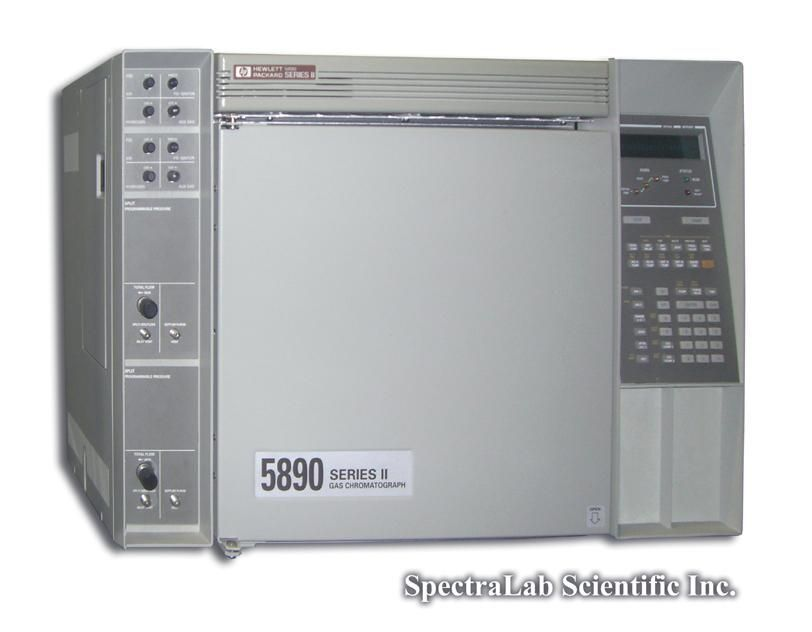 HP 5890 II GC with Dual FIDs, Dual EPC controlled Split/splitless Inlets