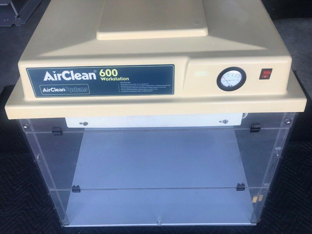 "AirClean 32"" Class 1 HEPA Device, Biosafety & Balance Station AC632A, NSF Tested"