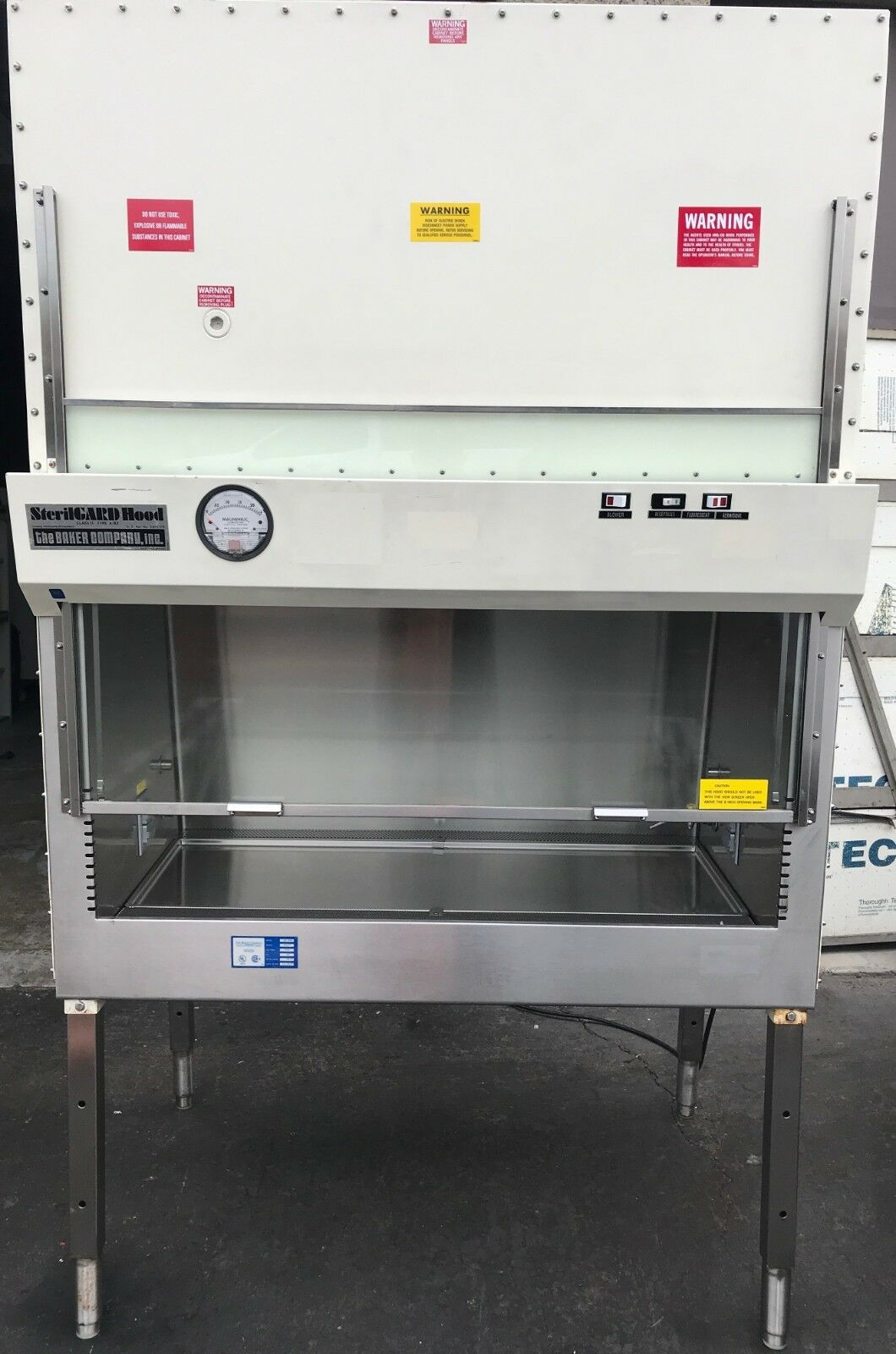 4ft A2 Baker Biosafety Cabinet SG-400, Great HEPA filters, NSF Tested