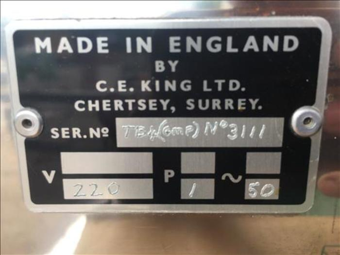 C E King tablet counter