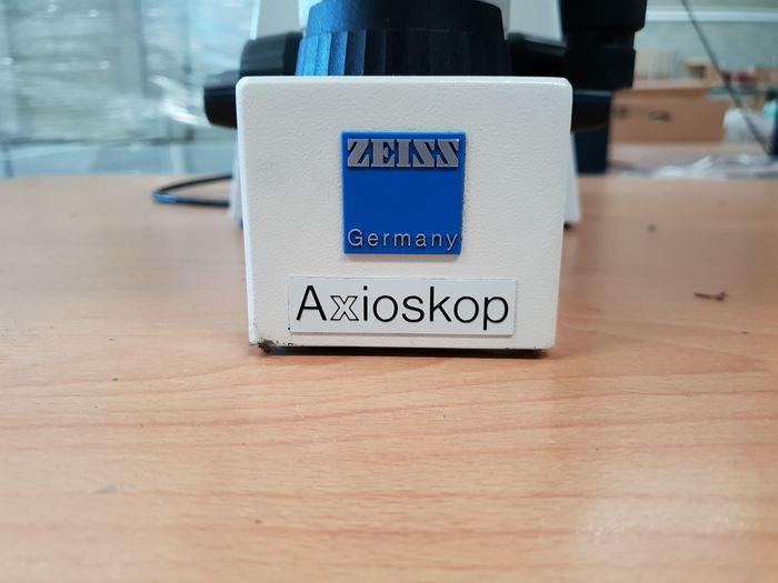 Zeiss Axioskop Microscope
