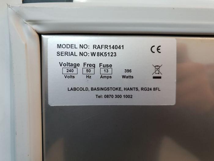Labcold Advanced RAFR14041 Refrigerator