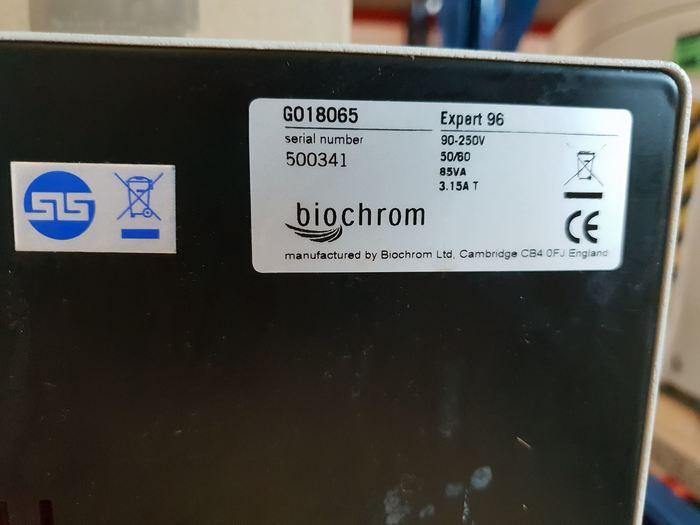 Biochrom Asys Expert 96 UV Microplate Reader