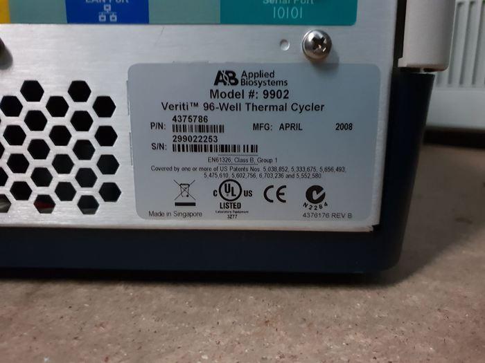 2008 AB Applied Biosystems 9902 Veriti 96-well