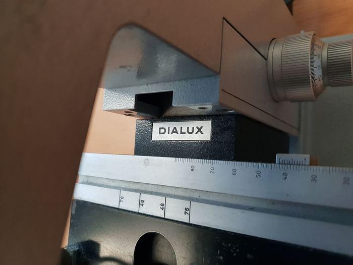 Leitz Wetzler Dialux Microscope