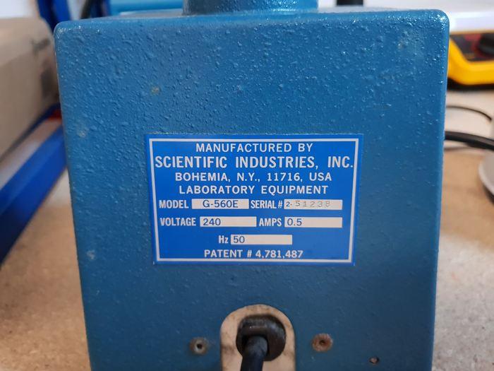 Scientific Industries Vortex Genie 2 G-560E with timer