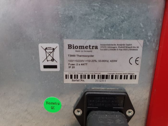 Biometra T3000 Thermocycler