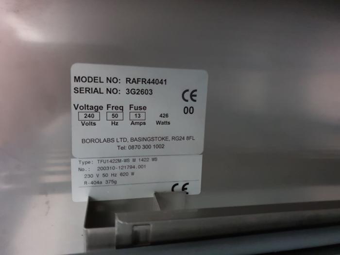 Labcold Advanced RAFR44041 Double Door Refrigerator