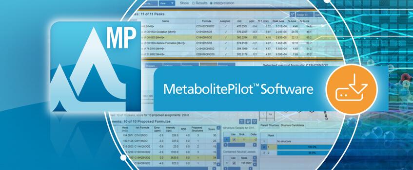 MetabolitePilot™ Software