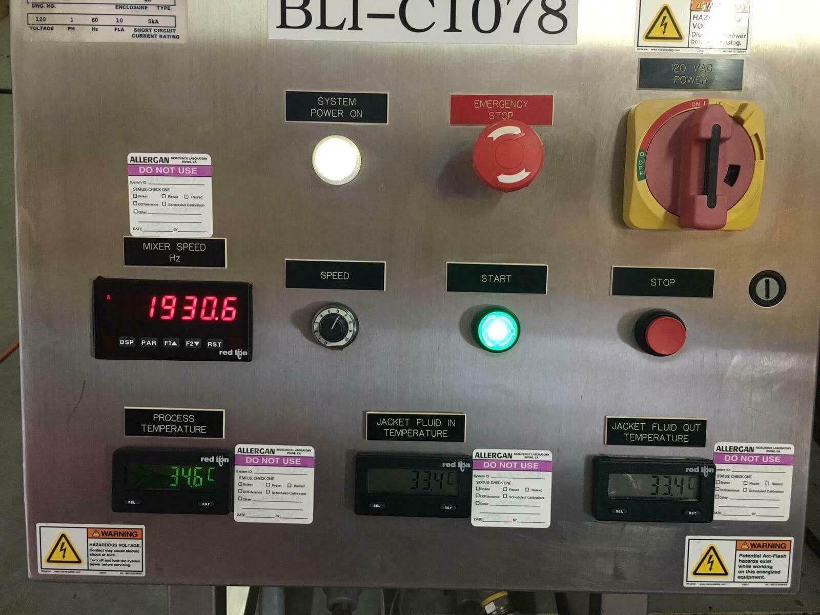 Hynetics 30L Single Use Mixer Model HRC0031116GA1MB-09RSingle
