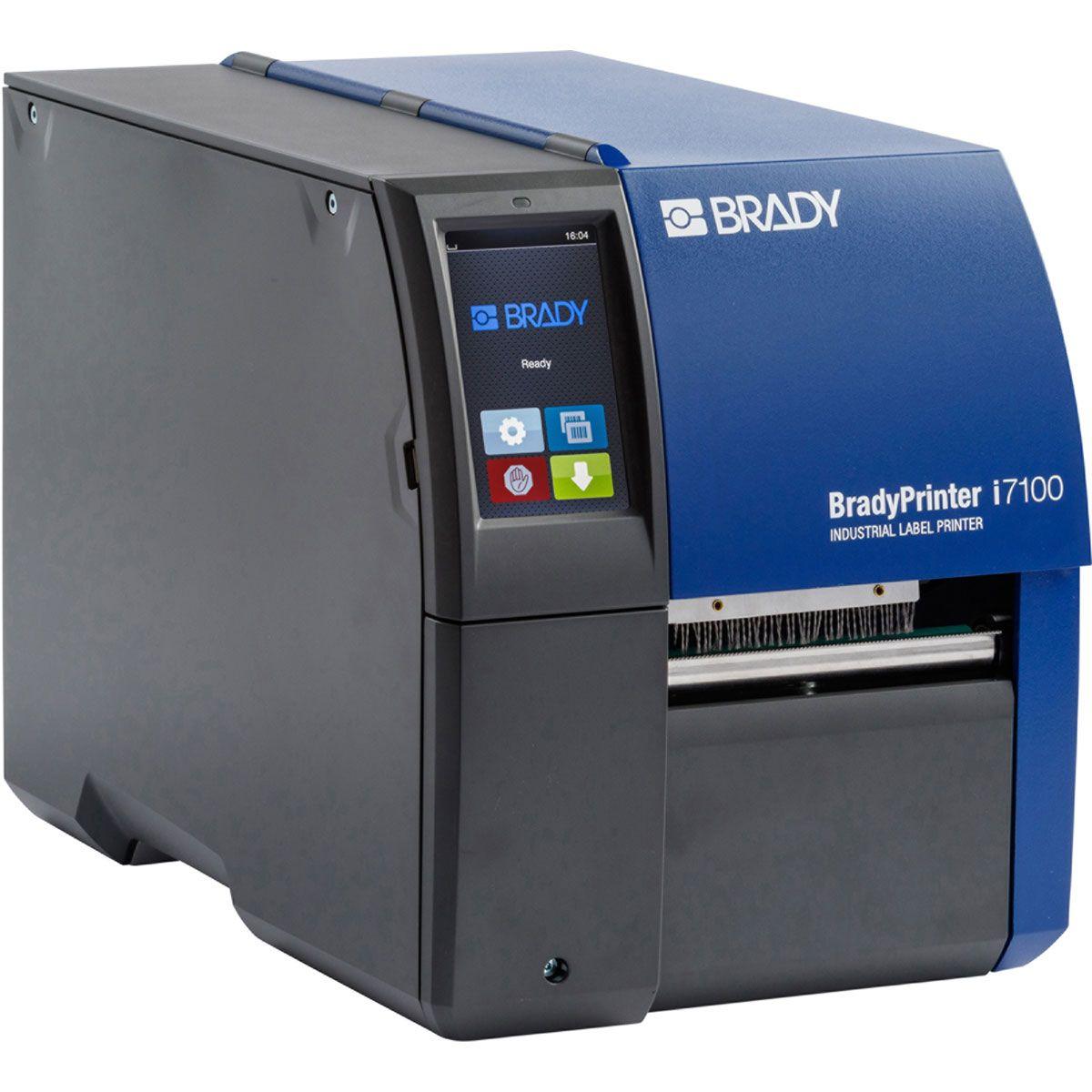 BradyPrinter i7100 300dpi Industrial Label Printer