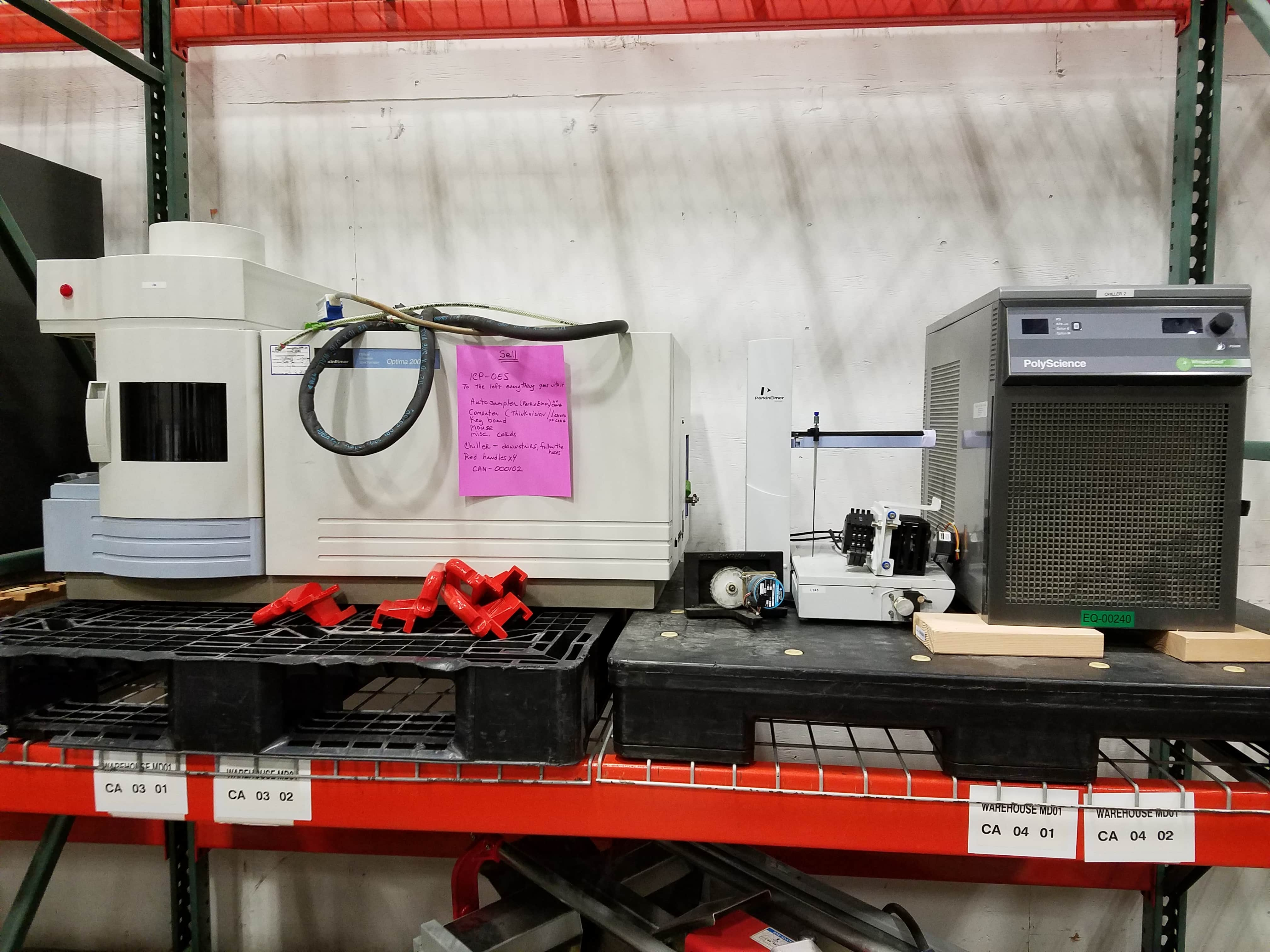 PE ICP-OES Optima 2000-IV with Autosampler and Chiller