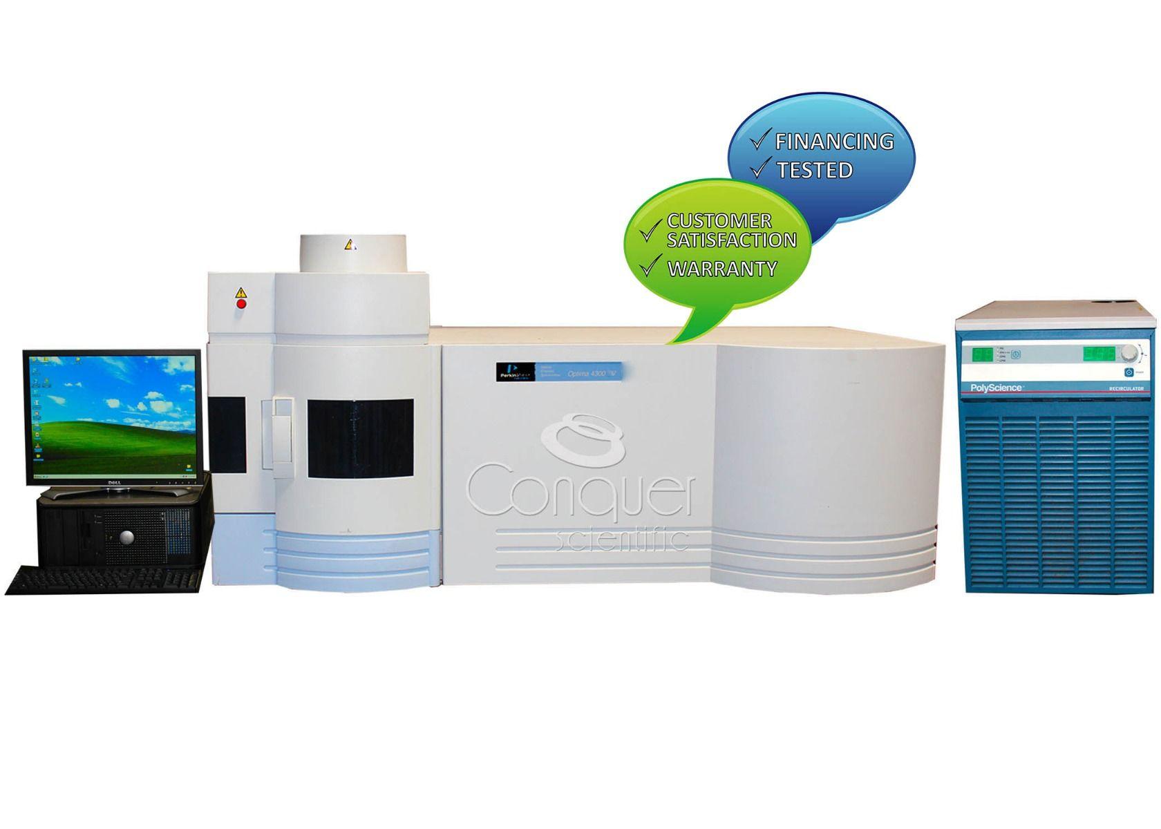 Perkin Elmer Optima 4300 V ICP-OES System