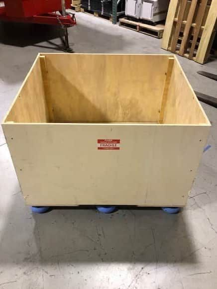 SCIEX Blue-Line Shipping Crates with hardware kit for SCIEX 3500, 4500, 5500, 6500