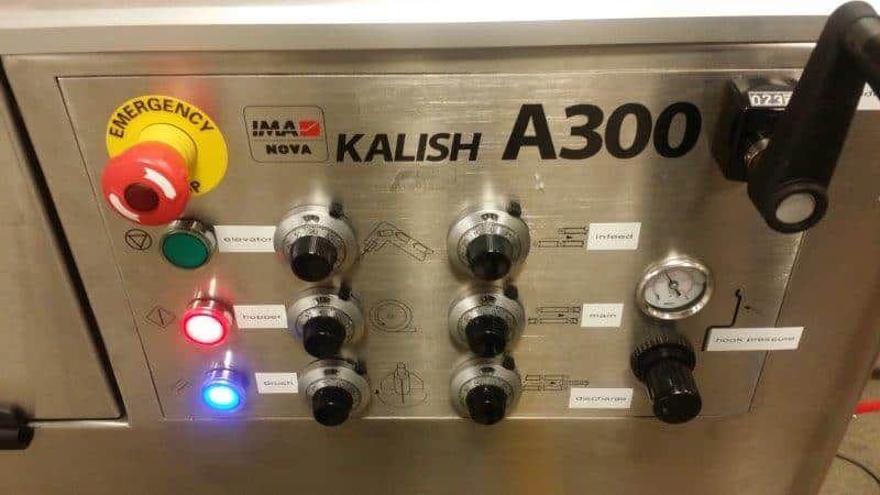 IMA Kalish A300 Bottle Unscrambler and Inverter System