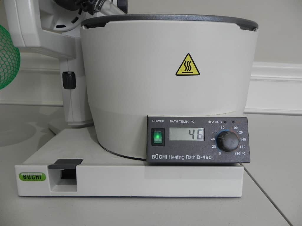 Buchi R-200 Rotary Evaporator with Buchi B-490 heating bath