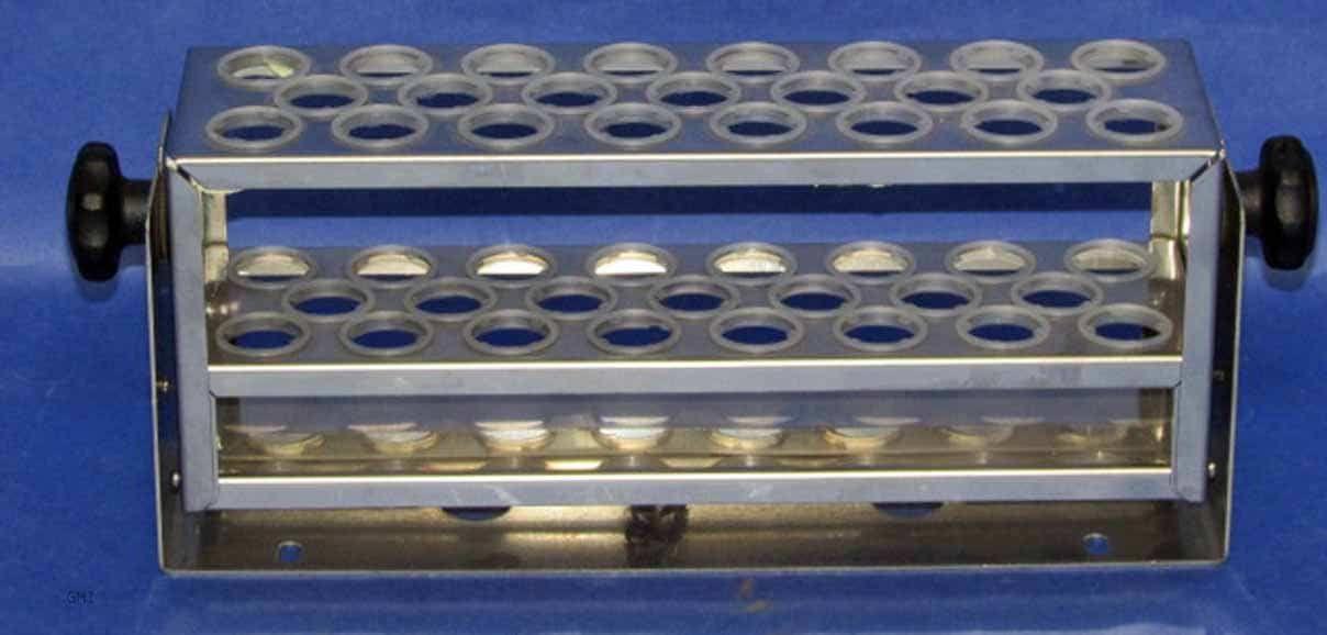 "Eppendorf Test Tube Rack, 23 position, .7"" to .8"" Tubes (Ea) M12890040"