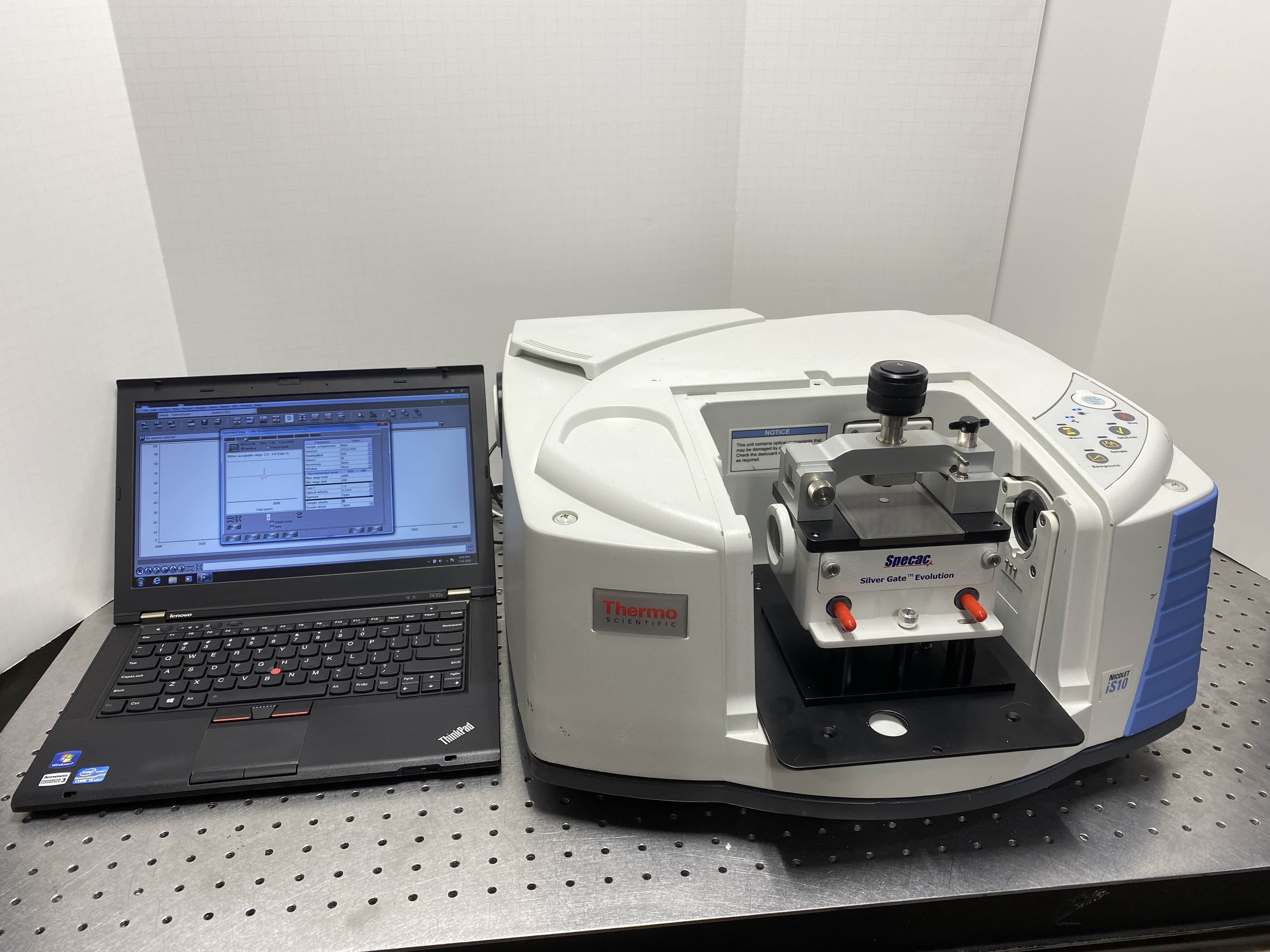 Thermo IS10 FTIR with ATR Accessory