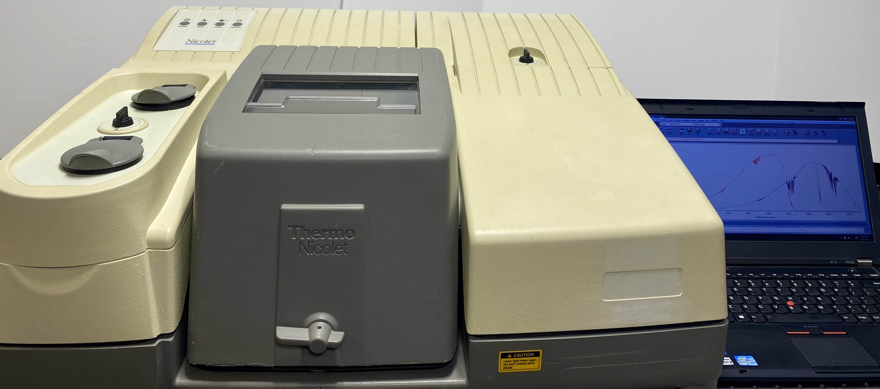 Thermo Nicolet 6700 FTIR with Near Infrared Option