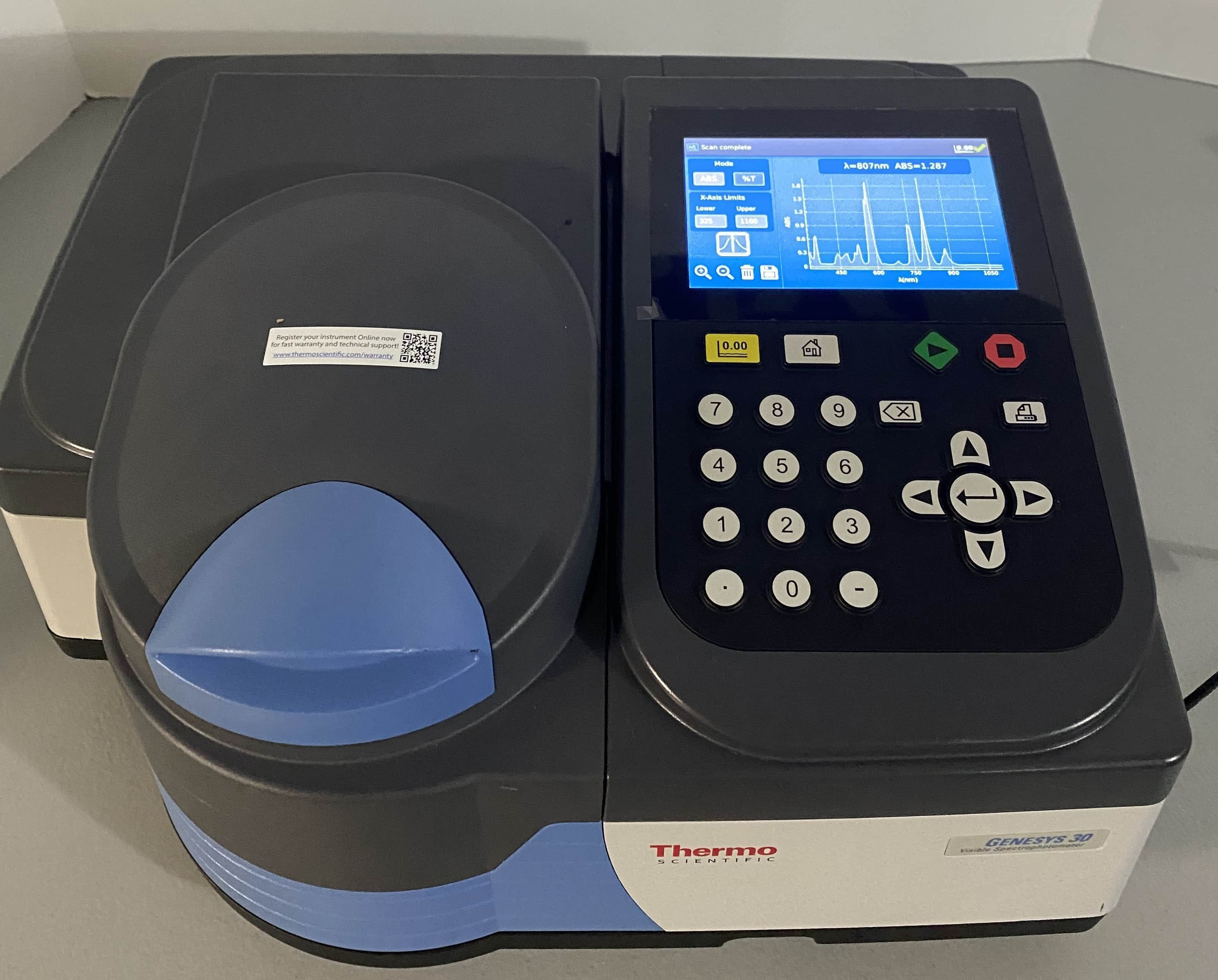 Thermo Genesys 30 VIS Spectrophotometer