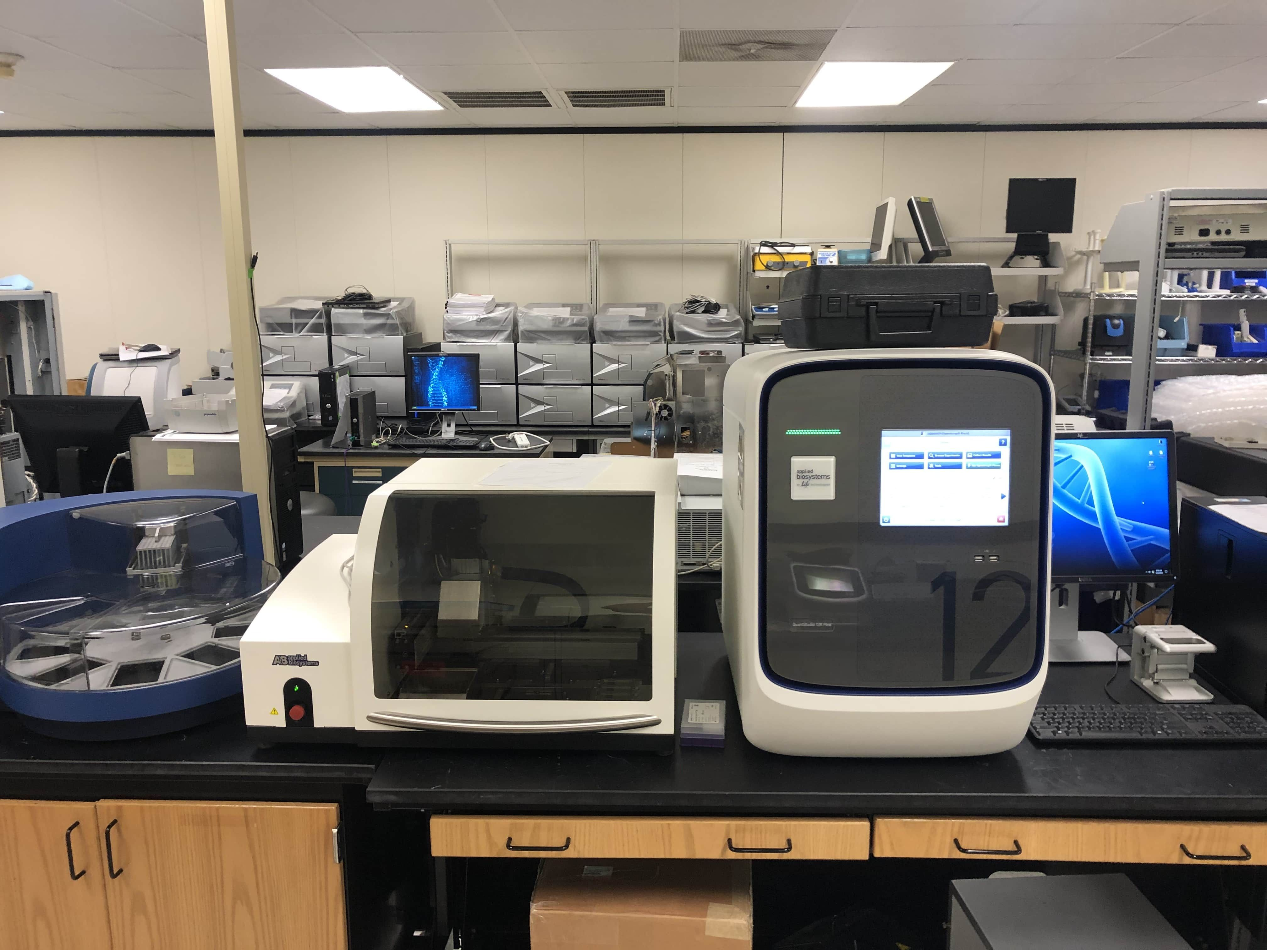 QuantStudio 12-Flex Real-Time PCR Complete System-Year 2015