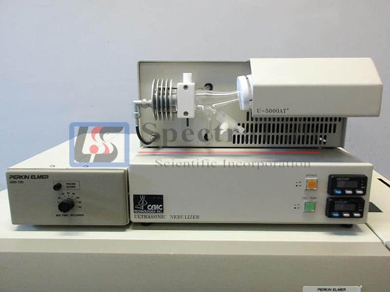 Perkin Elmer Sciex ELAN 6000 System with Ultrasonic Slurry Sampler and Ultrasonic Nebulizer