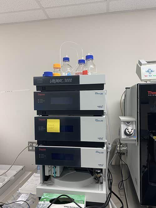 LC/MS/MS PFAS Testing EPA 537.1 with Thermo TSQ Quantiva