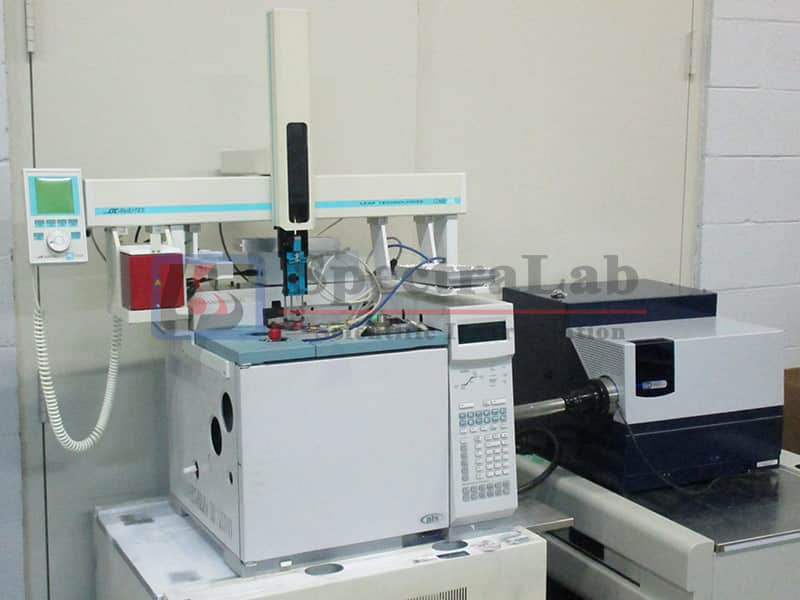 JAS AED-plus with HP/Agilent 6890 GC & Leap Technologies Combi PAL Autosampler