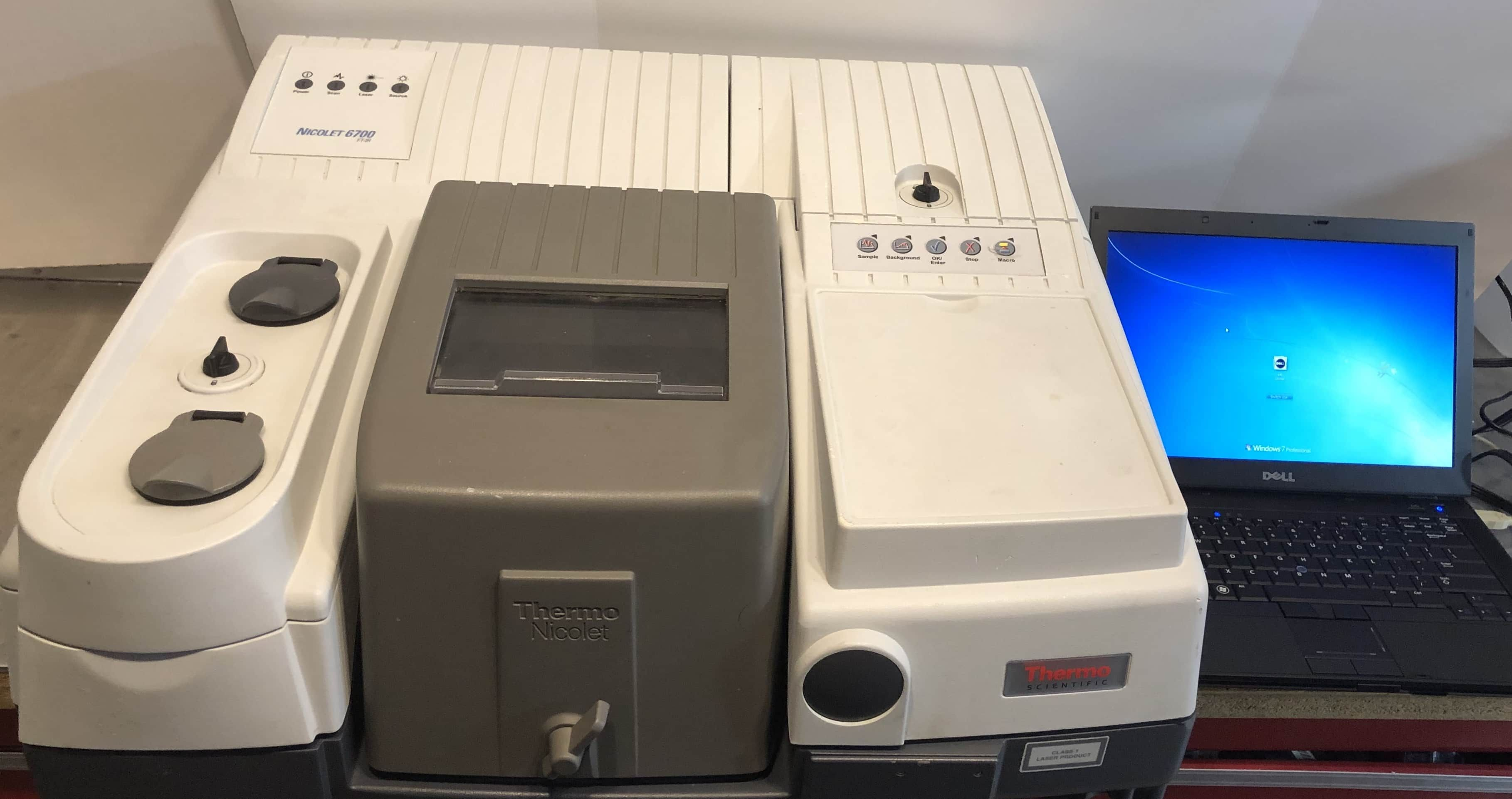 Thermo Nicolet 6700 FTIR with MCT Detector